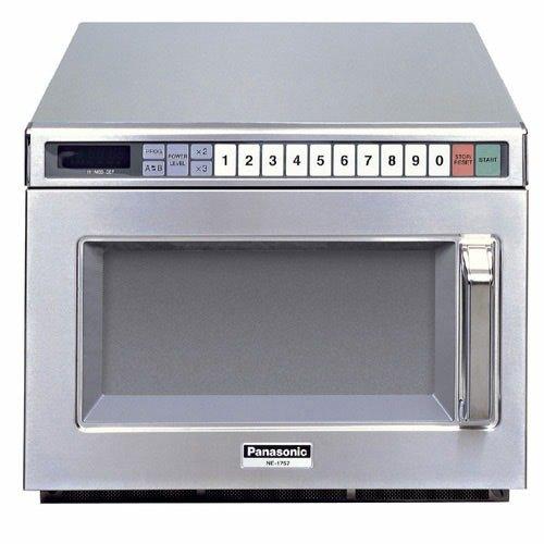 Panasonic NE 21521 Stainless Steel Commercial Microwave Oven