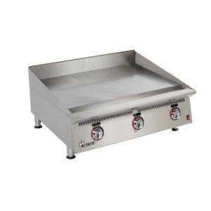 Star 848TSA Ultra Max 48 inch Countertop Gas Griddle with Snap Action Controls and Direct Spark Ignition - 160,000 BTU