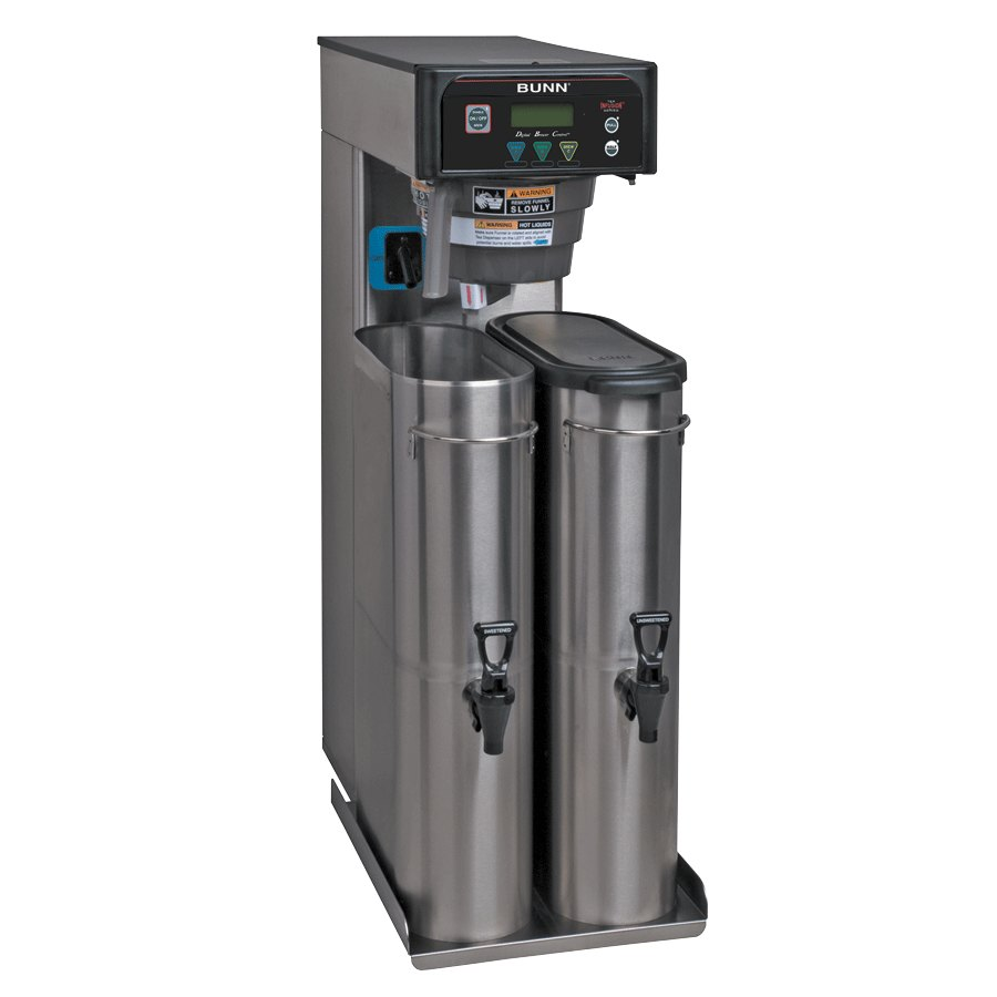 Bunn 41400.0003 ITB Dual Dilution 3 Gallon Iced Tea Brewer with Sweetener and Digital Controls - 120V