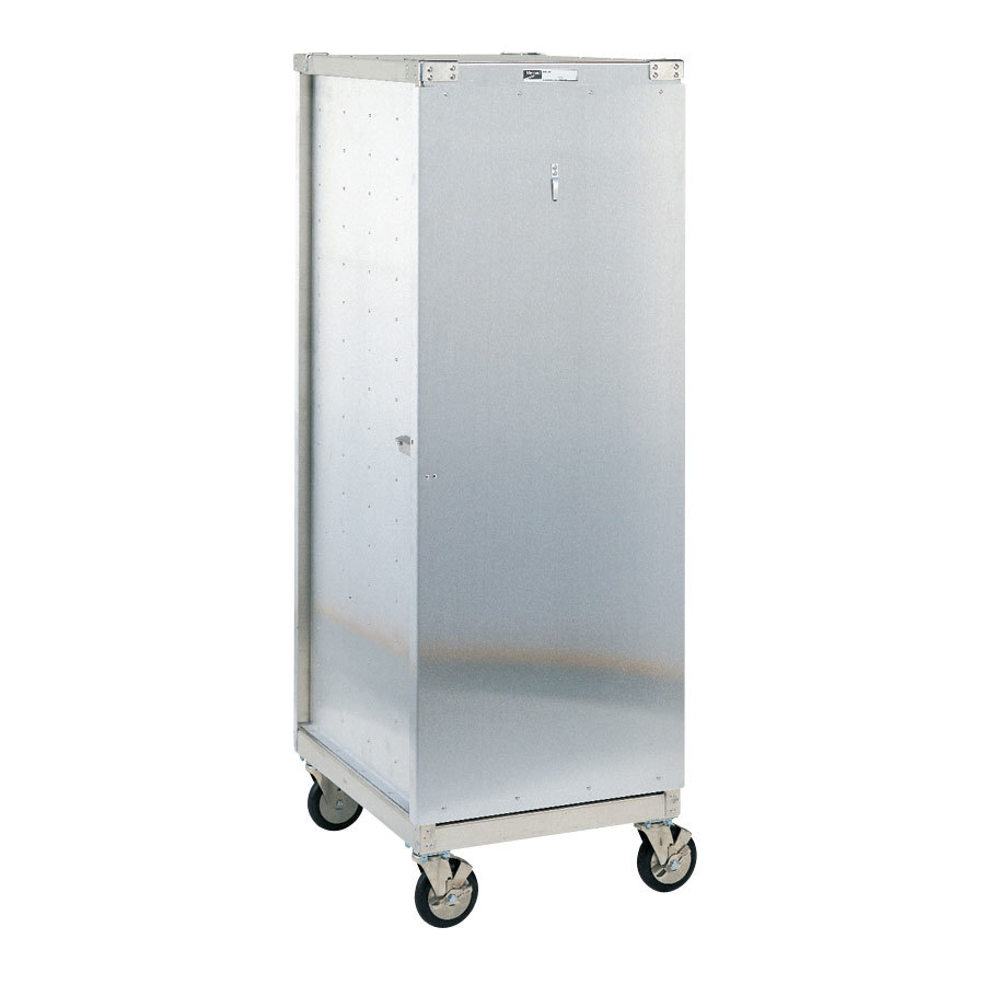 Metro CD4N 40 Pan End Load Uninsulated Bun / Sheet Pan Rack / Delivery / Storage Cabinet Enclosed with Lockable Door - Assembled