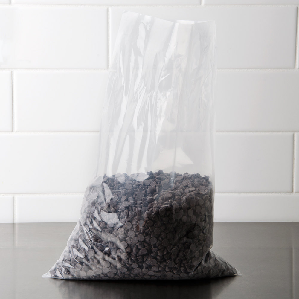 "Plastic Food Bag 12"" x 18"" Flat - 500/Box"