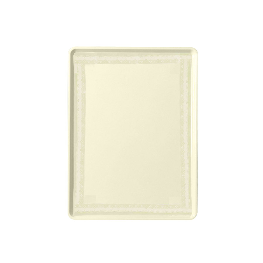 "CAMBRO Doily Antique Parchment Cambro 1222D241 12"" x 22"" Dietary Tray 12 / Case at Sears.com"