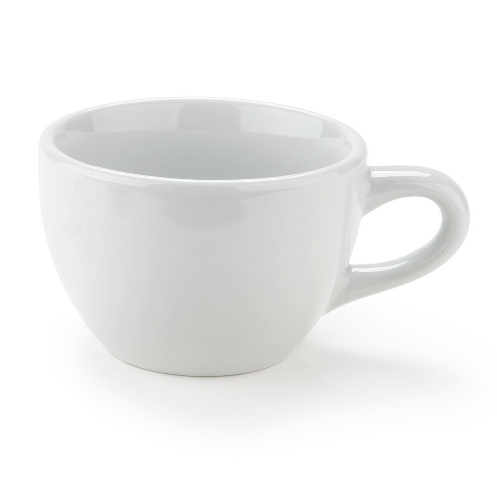 Tuxton ALF-0752 Alaska 7.5 oz. Bright White China Round Cup 36/Case