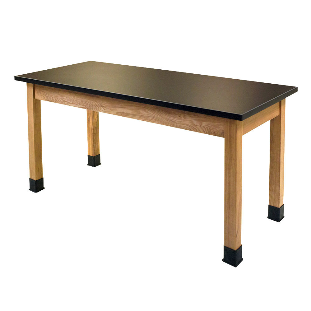 "National Public Seating SLT2472-36 24"" x 72"" Science Lab Table - 36"" Height"