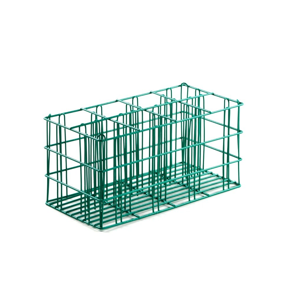 8 Compartment Catering Flatware Rack with Flatware Cylinders 19 3