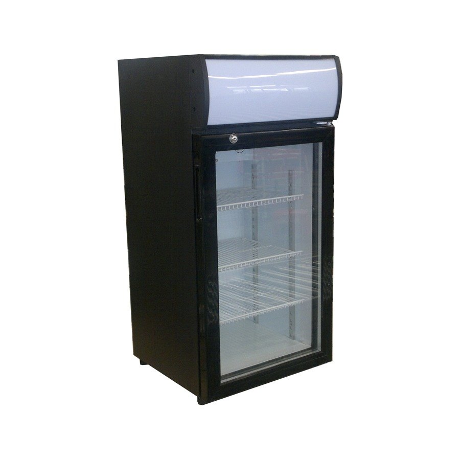 Beverage Air Ctr3 1 B Countertop Display Refrigerator With