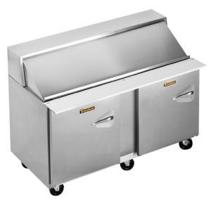 "Traulsen UPT6012-LL 60"" 2 Left Hinged Door Refrigerated Sandwich Prep Table"