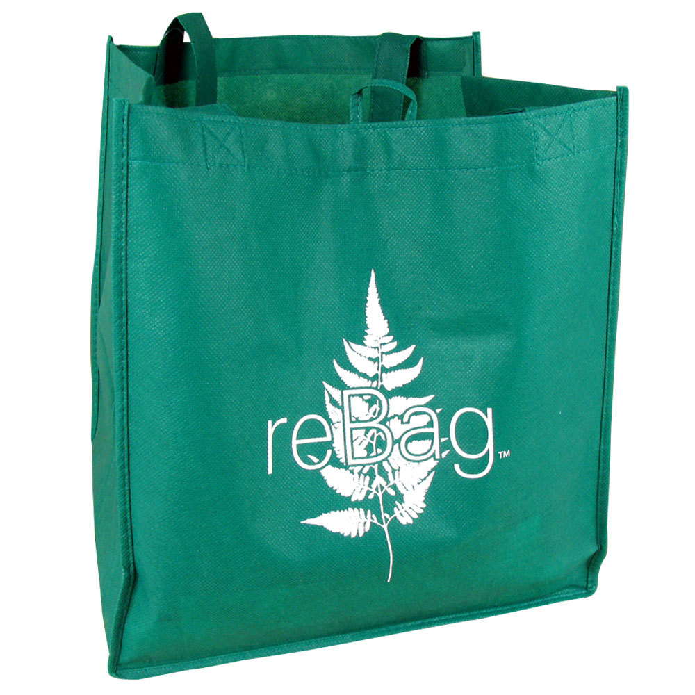 Rebag Reusable Green Grocery Bag 50 Case
