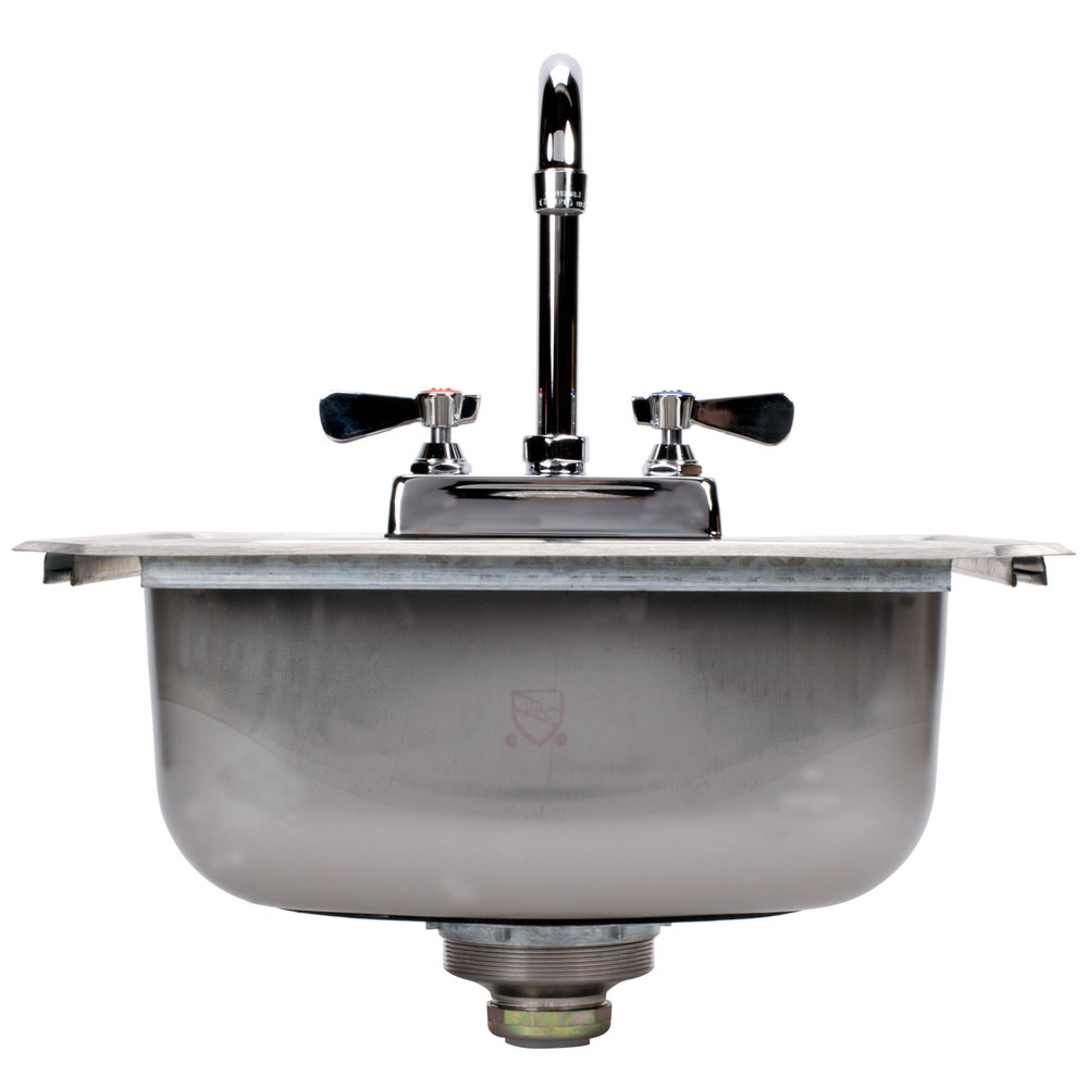Drop In Stainless Steel Utility Sink : Advance Tabco DI-1-1515 Drop In Stainless Steel Sink 15