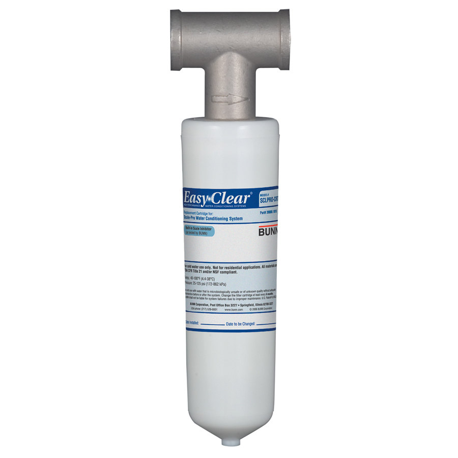 Bunn Scale-Pro Easy Clear Water Quality System Filter Kit - 6 gpm (Bunn 39000.0010)