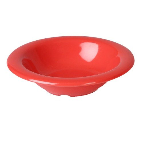 Orange 8 oz. Melamine Salad Bowl - 12 / Pack