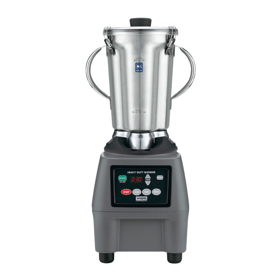 Waring CB15T 1 Gal. Stainless Steel Top Food Blender with Timer