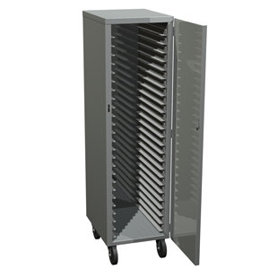 Metro DSC7N Bun Pan Rack / Delivery / Storage Cabinet Enclosed with Lockable Door- Uninsulated