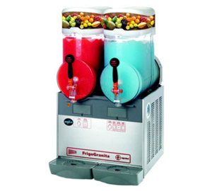 Cecilware FrigoGranita GIANT2 4 Gallon Twin Slush Machine - 120V