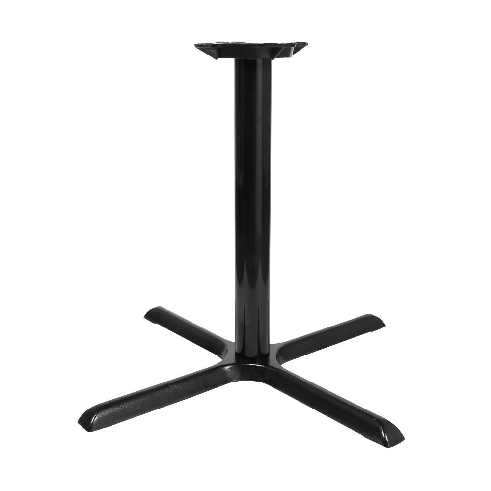 22 inch Black Metal Table Base