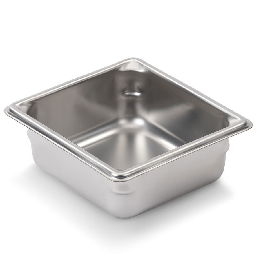 Vollrath Super Pan V 30622 1/6 Size Stainless Steel Anti-Jam Steam Table / Hotel Pan - 2 1/2 inch Deep