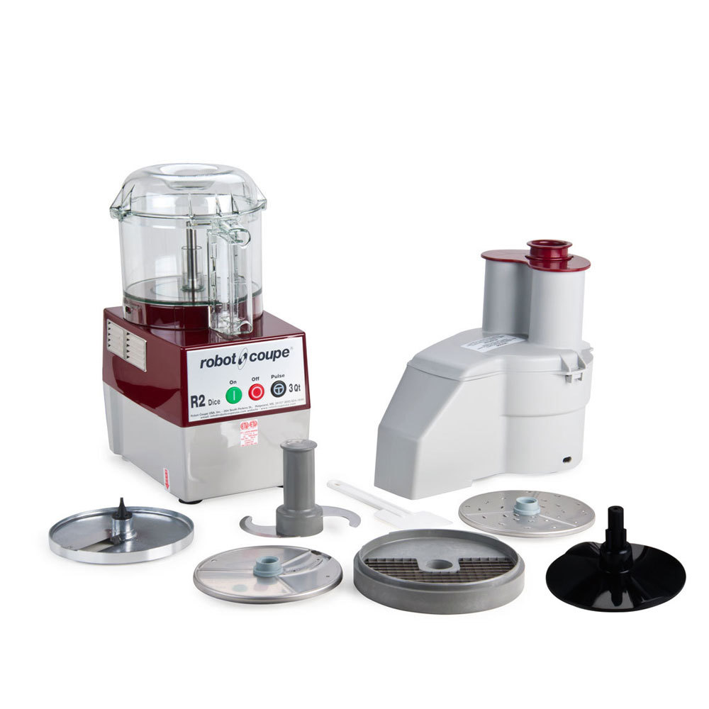 robot coupe r2dice clr continuous feed 3 qt combination food processor dicer with clear bowl. Black Bedroom Furniture Sets. Home Design Ideas