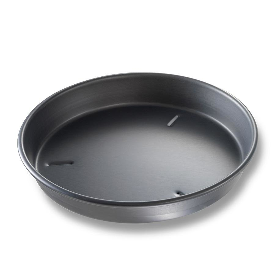 "Chicago Metallic 91100 10"" x 1 1/2"" Deep Dish Hard Coat Anodized Aluminum Pizza Pan at Sears.com"