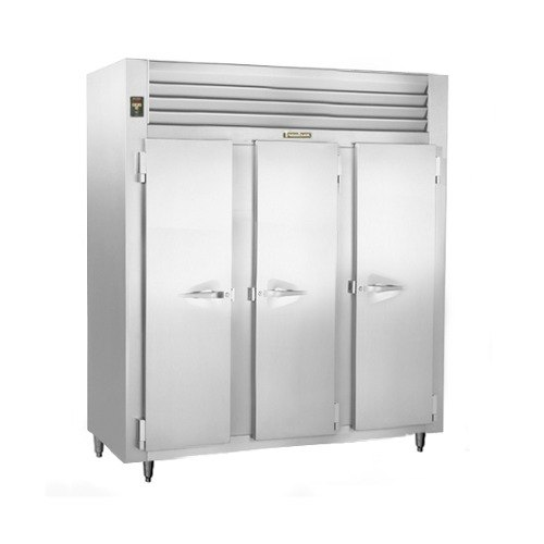 Traulsen ALT332NUT-FHS 69.5 Cu. Ft. Three-Section Solid Door Narrow Reach-In Freezer - Specification Line