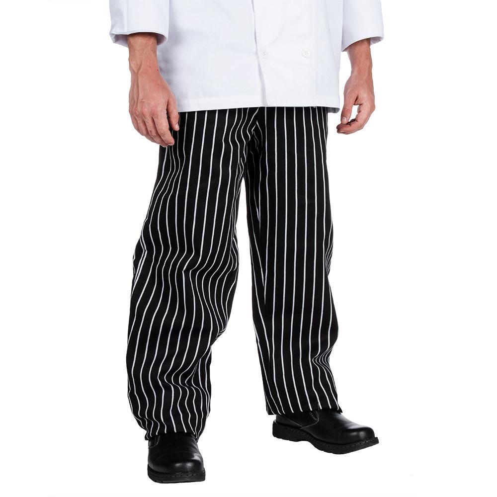 White Food Service Pants