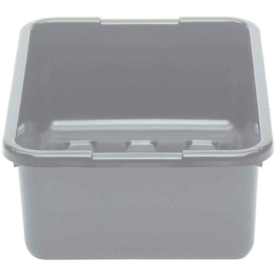 Cambro 21157CBP180 Light Gray Polyethylene Plastic Cambox Bus Box 21 inch x 15 inch x 7 inch
