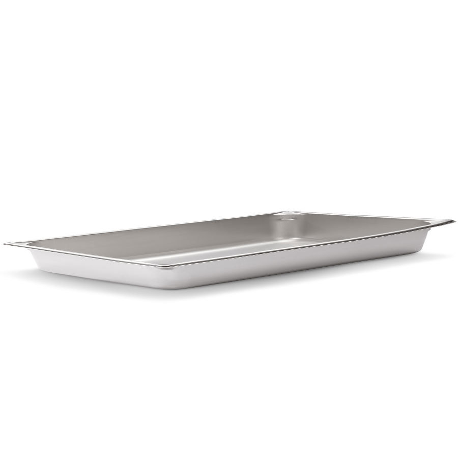 Vollrath Super Pan V 30012 Full Size Stainless Steel Anti-Jam Steam Table / Hotel Pan - 1 1/4 inch Deep