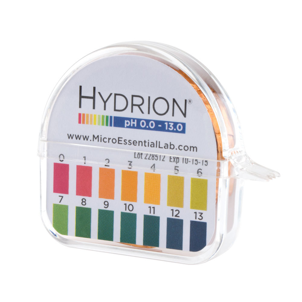 buy ph paper Product type: ph paper ph range: 1-12 includes two rolls of ph papers packaged in a protective plastic dispenser with stainless steel cutoff lips and two matching color charts.