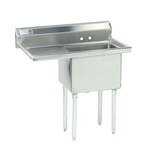 Left Drainboard Advance Tabco Fe 1 1812 18 One Compartment