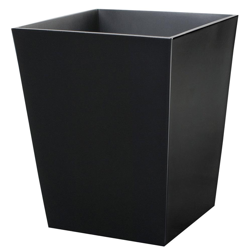 Bathroom collections bs spa8b spa black 6 qt hotel for Bathroom wastebasket