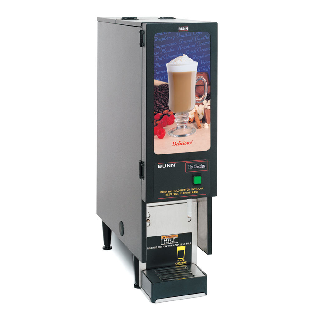 Bunn FMD-1 BLK Fresh Mix Cappuccino / Espresso Machine Hot Chocolate Dispenser 120V (Bunn SET00.0203) at Sears.com