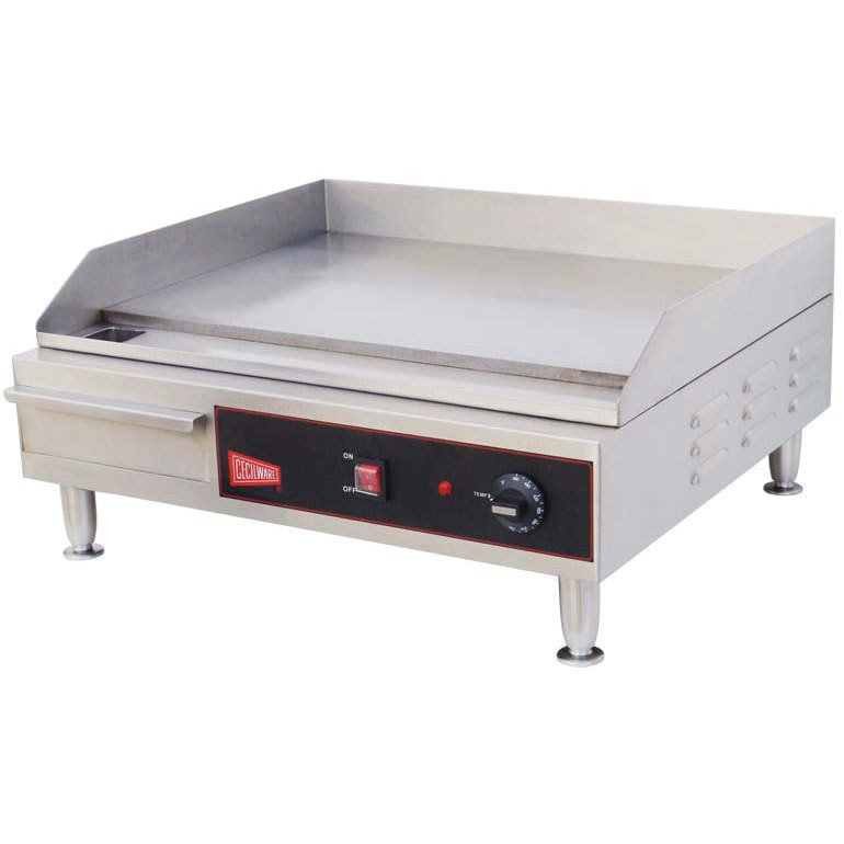 Cecilware EL1624 24 inch Electric Griddle - 240V