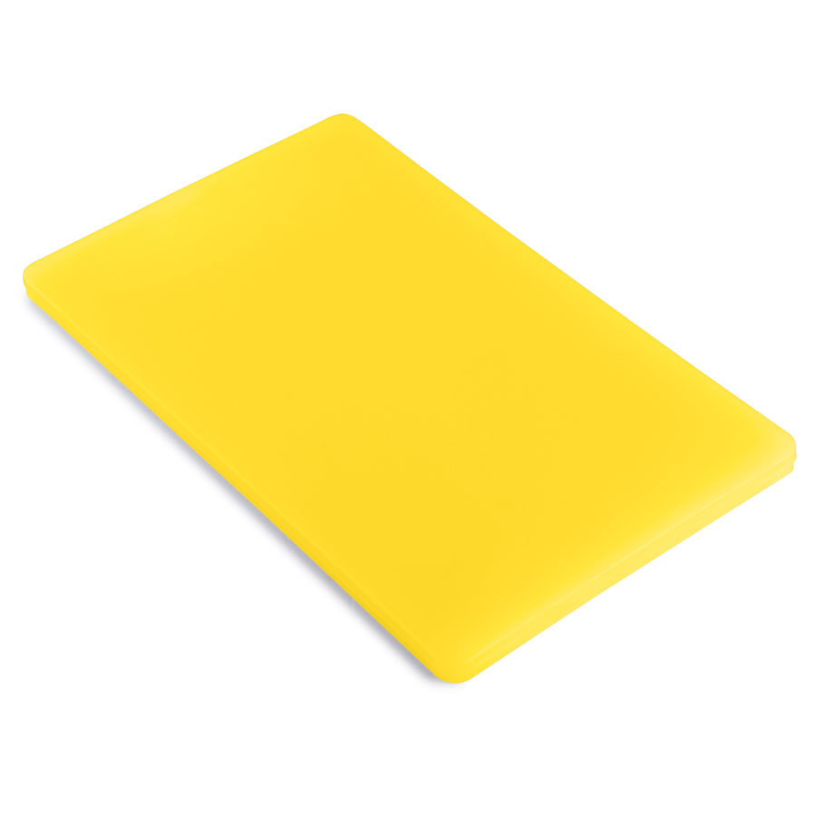 12 inch x 18 inch x 1/2 inch Cutting Board Yellow