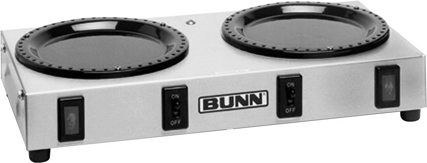 Bunn WX2 Double Burner Coffee Warmer (Bunn 6310.0004)