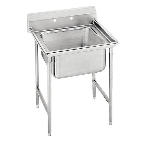 Advance Tabco 9-21-20 Super Saver One Compartment Pot Sink - 29""