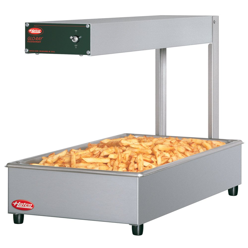 Hatco GRFF 24 inch Glo-Ray Portable French Fry Warmer / Dump Station - 500W