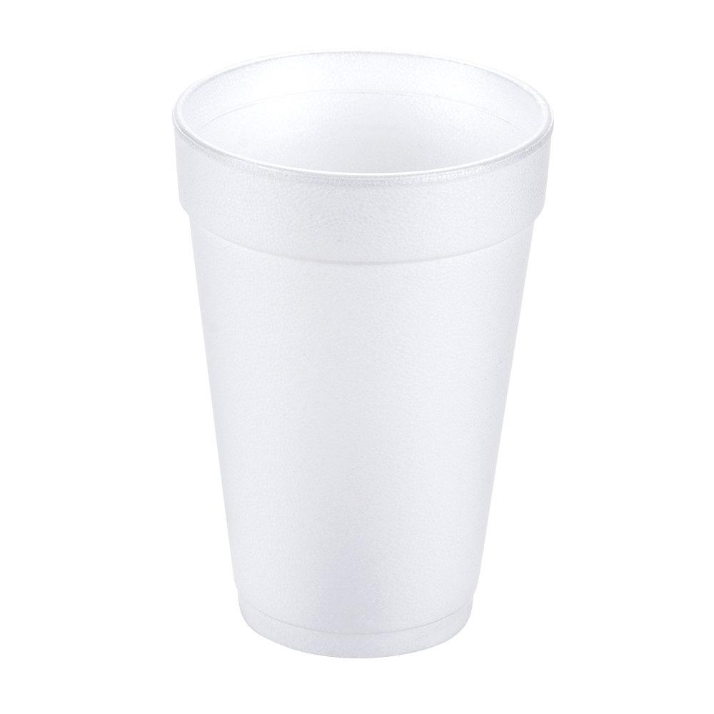 Dart Solo 12j12 12 Oz White Foam Cup 25 Pack