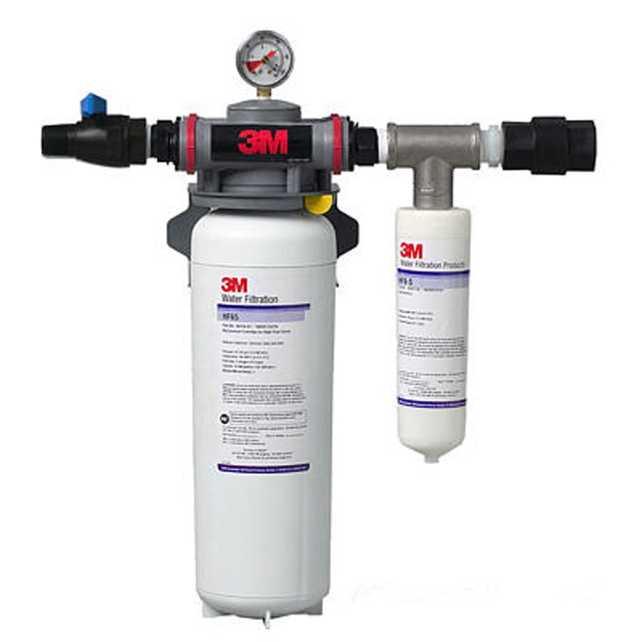 3M Cuno SF165 Steamer Water Filtration System - 3.0 Micron Rating and 3.34 GPM
