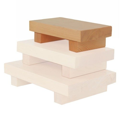 Small Wood Sushi Serving Board - 6/Pack