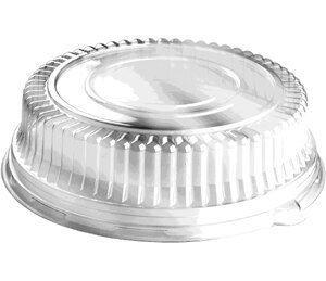 Sabert 5518 18 inch Dome Lid for Round Catering Tray 36/Case