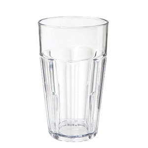 GET 9920-1-CL 20 oz. Clear Break-Resistant Plastic Bahama Tumbler - 72/Case