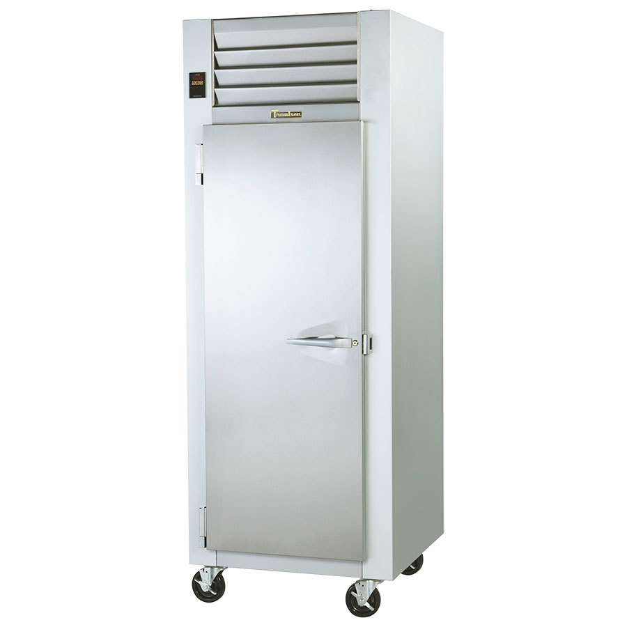 Traulsen G12011 Solid Door Reach In Freezer - Left Hinged Door