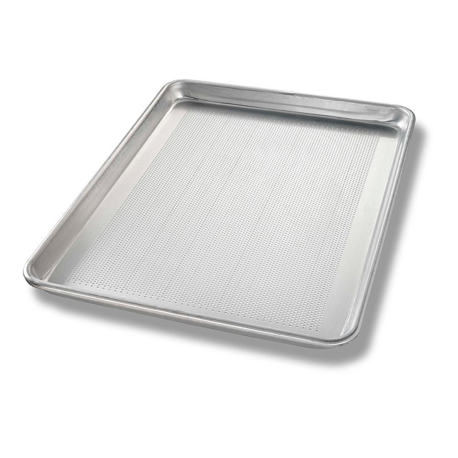 Chicago Metallic 40857 Half Size Perforated Aluminum Sheet Pan - 13 inch x 18 inch