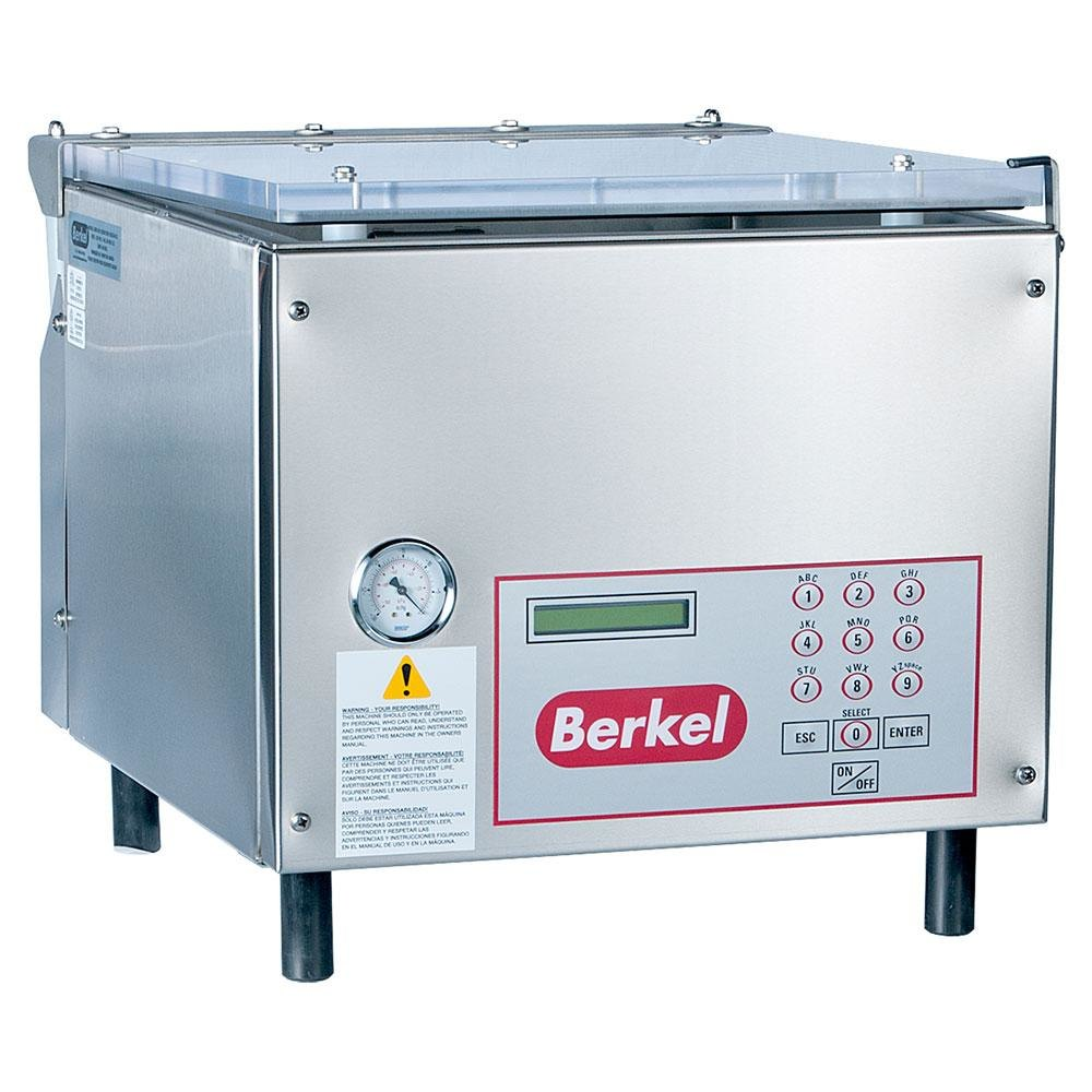 Berkel 350d chamber vacuum packaging machine with two 19 for Food bar packaging machine