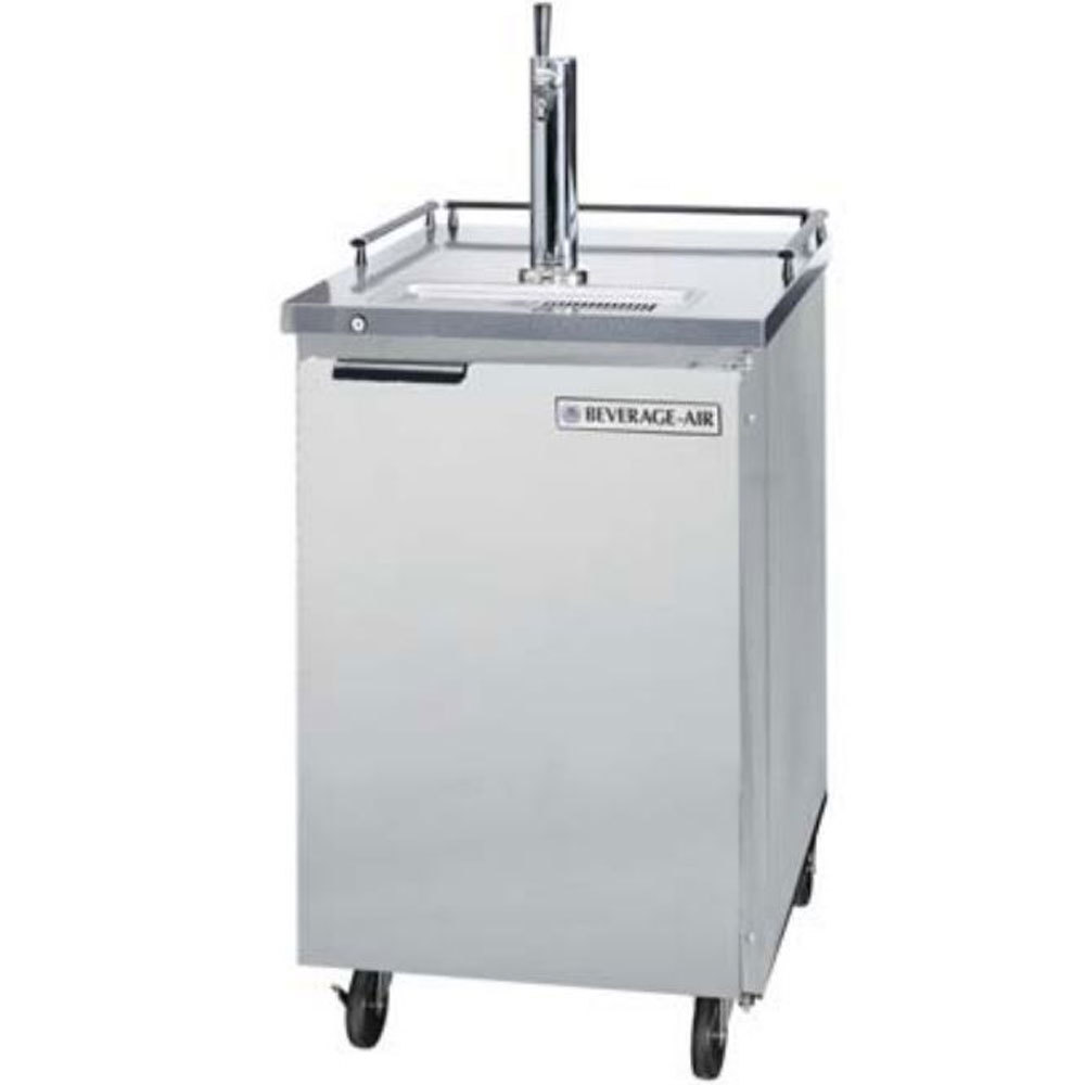 Beverage Air (Bev Air) BM23C-S Stainless Steel Club Top Beer Dispenser - 1 Keg Kegerator at Sears.com