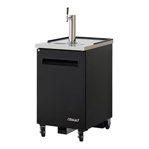 "Turbo Air Refrigeration Turbo Air TBD-1SB Black 24"" Beer Dispenser - 1 Keg at Sears.com"