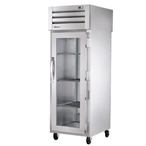 Glass Door Front Refrigerator From