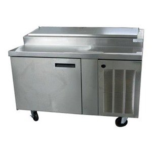 Delfield 18648PTBM 48 inch Refrigerated Pizza Prep Table