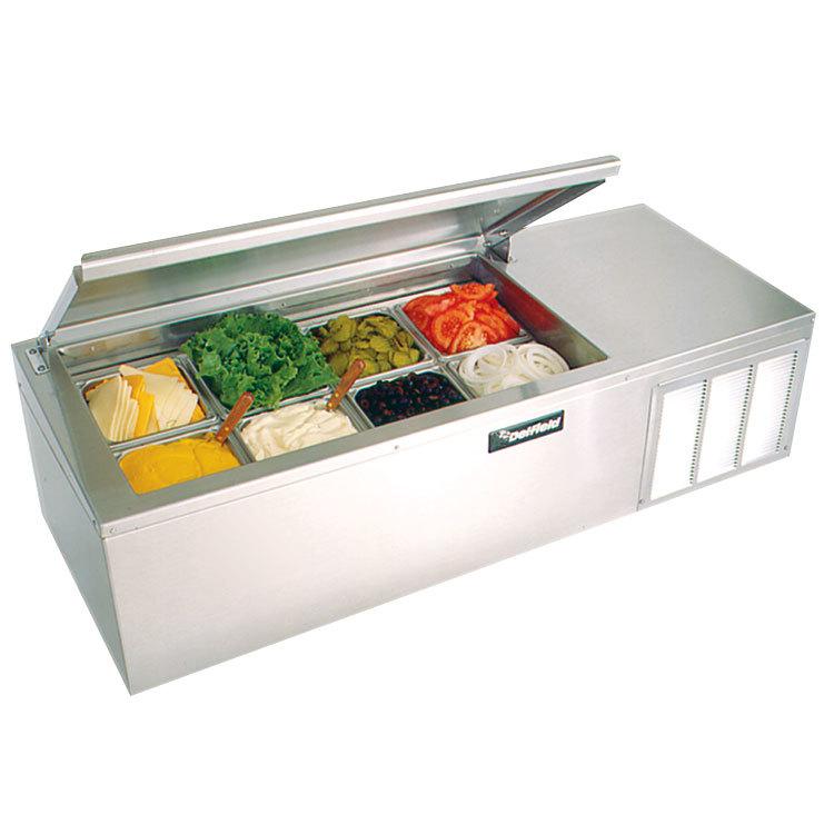 Delfield Ctp 8160 Nb 60 Quot Countertop Refrigerated Prep Rail