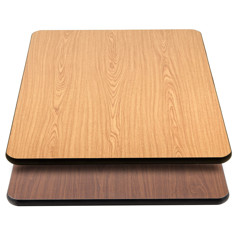 Lancaster table seating 30 x 42 laminated rectangular for Tabletop table