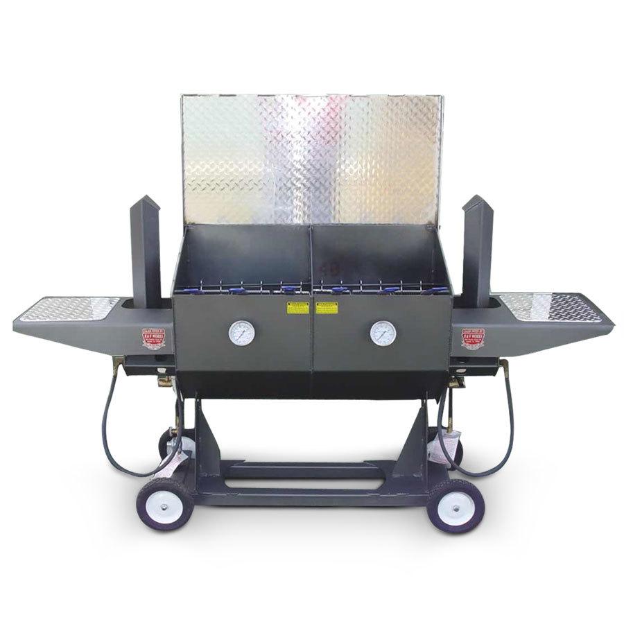 R & V Works FF6-R 17 Gal. Outdoor Cajun Deep Fryer